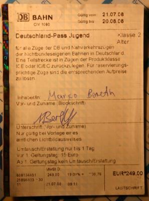Mein Deutschlandpass