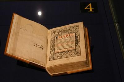 Kunstvolles Buch im Gutenberg-Museum