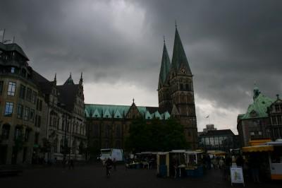 Ziemlicher Wetter-Misch-Masch über Bremen
