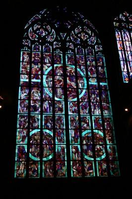Prachtvolles Fenster im Dom