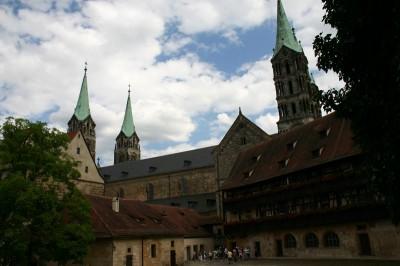 Bamberger Dom von hinten