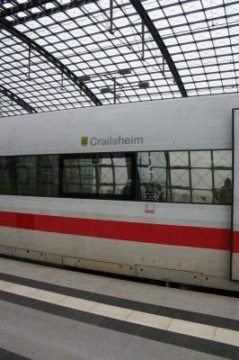 Mein ICE von Hannover nach Berlin