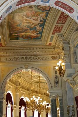 Semper-Oper von Innen, alles aus Gips