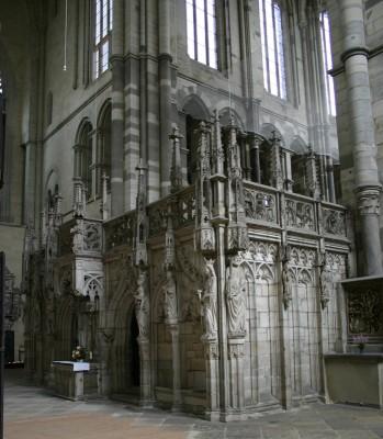Im Innern des Magdeburger Doms