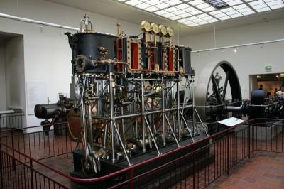 Dampfmaschine im Deutschen Museum