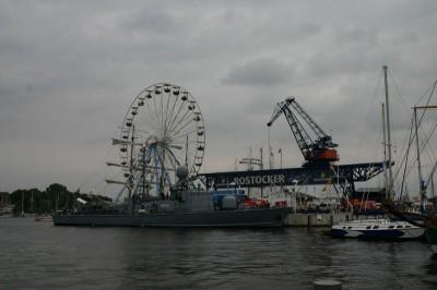 Rostocker Hafen am Sonntag