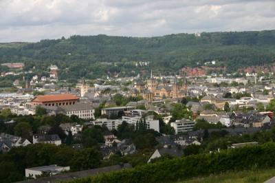 Der Ausblick vom Petrisberg