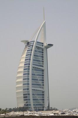 Das 320 Meter hohe Burj Al Arab