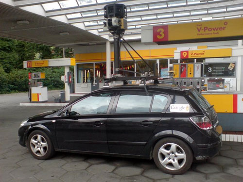GoogleStreet View Car