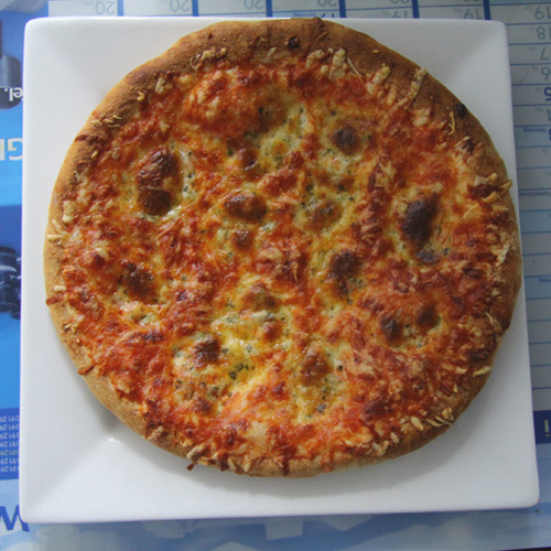 Leckere Pizza, bekomm gleich nochmal hunger...