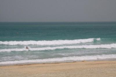 Der leere Strand ;-)