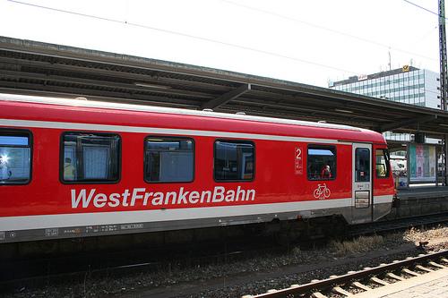 Westfrankenbahn. Die Bummelbahn schlechthin.