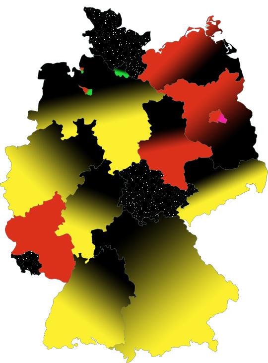 Die Bundesrepublik am 13.10.2009