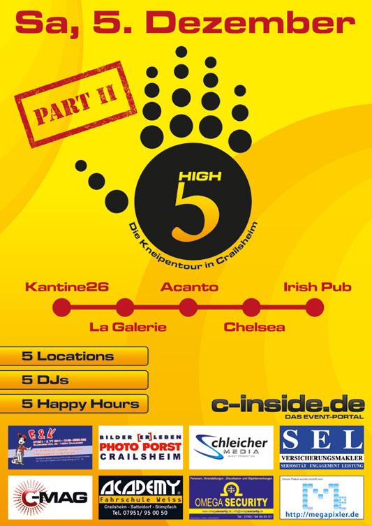 Unser High5-Plakat