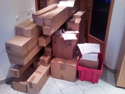 Montag, 21. Dezember: mit 43 DPD-Paken der zweitstärkste Tag!