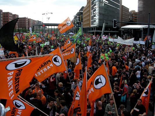 Groß-Demo in Berlin (Copyright siehe unten)