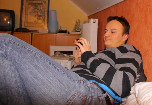 Großteil vom Geburtstag verbracht ich also mit Handy in der Hand ;-)