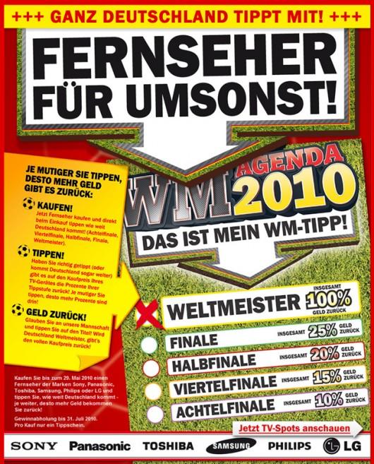 Das Plakat mit der Erläuterung Quelle: mediamarkt.de
