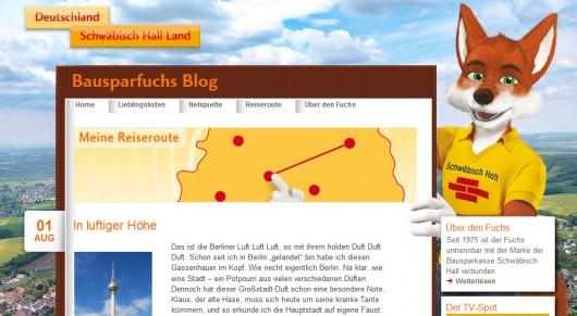 Bausparfuchs-Reiseblog © by Bausparkasse Schwäbisch Hall