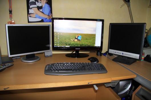 Rechts unten versteckt sieht man den Rechner ein wenig...