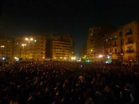 Auf den Straßen Kairos (26. Januar 2011) via Al Jazeera