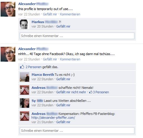 Bye bye Facebook....
