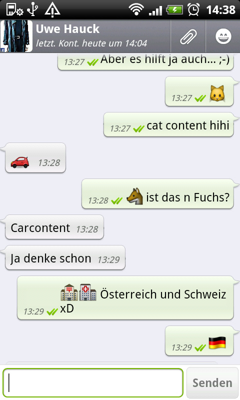 chat deutsch