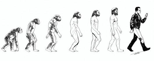 Vom Affen zum Onliner