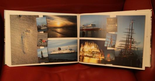 Die Bilder der Hanse-Sail im Fotobuch.