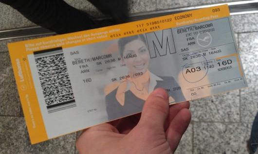 In Frankfurt war ich praktisch Lufthansa-Kunde (Starallianz)