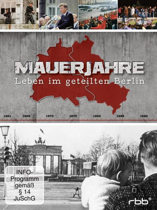 DVD-Cover Mauerjahre 1962 bis 1990