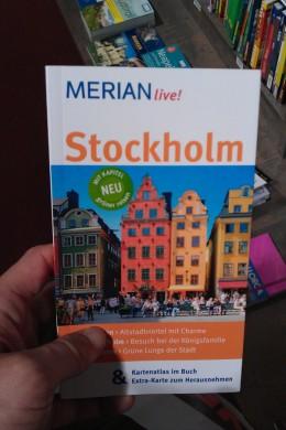 Das erste Mal mit Stockholm-Reiseführer in der Hand...