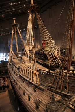 Zu 95% wurde das Schiff aus Originalteilen rekonstruiert.