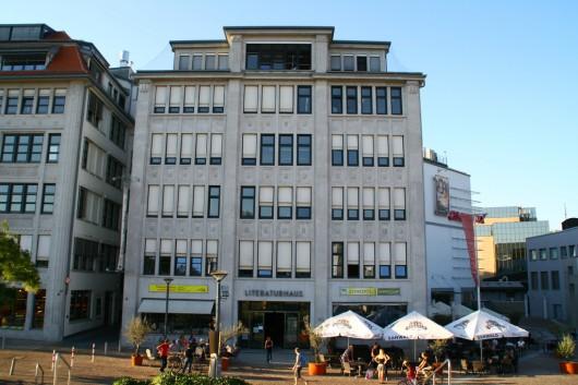 Unsere Räumlichkeiten bei der MFG im Literaturhaus. (Foto by Eric Späte)
