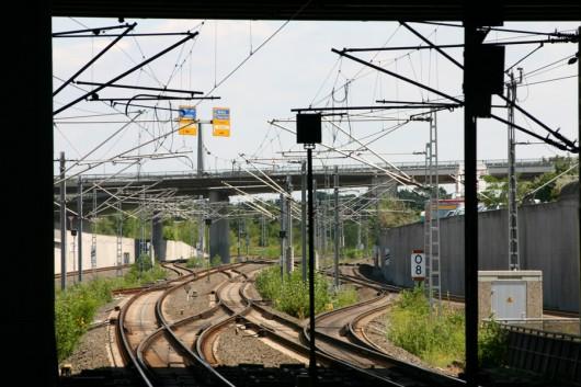 Ein winzig kleiner Teil des Bahnnetzes....