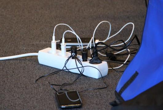 Diese verdammten Smartphone-Akkus! (Fotocredit @thomasbewegt)