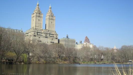 Heute morgen im Central Park. Wieder einmal perfektes Wetter!