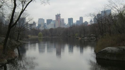 Am Lake im Süden des Central Park.
