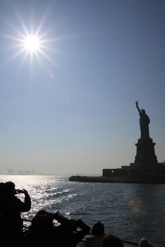 Eigentlich wurde mir mal beigebracht nicht gegen die Sonne zu fotografieren...