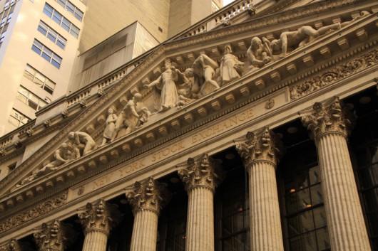 Die New Yorker Börse. Vielleicht das mächtigste Gebäude der Welt?