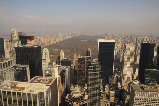 Atemberaubender Blick über den Central Park.