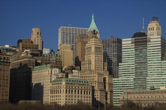 Noch einmal die Skyline von Lower Manhattan.