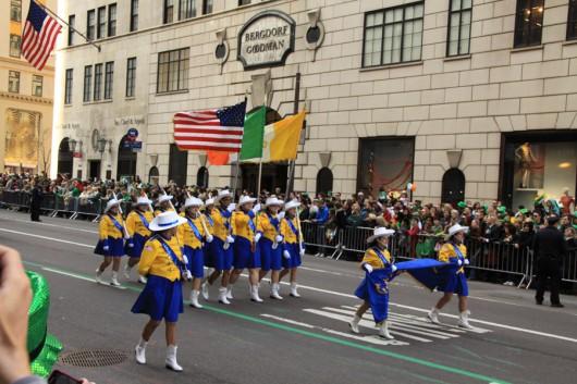 Scheinbar ist jeder New Yorker in bisschen irischer Abstammung.