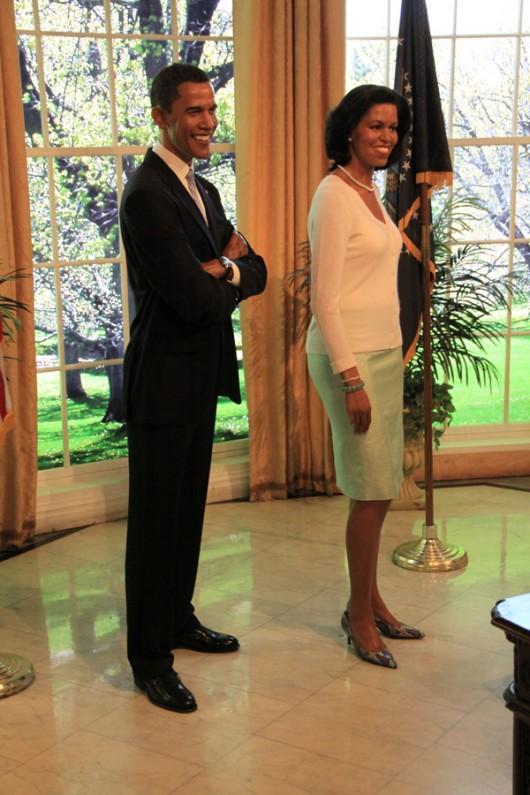 Bei Obama im Oval Office des Weißen Haus.