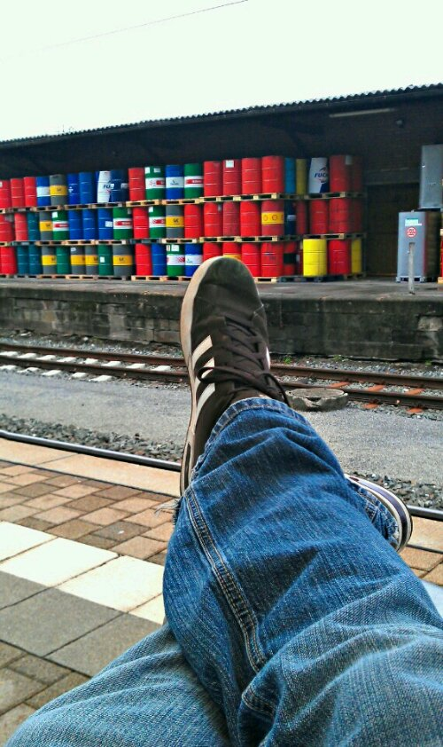 Waiting for my Train...