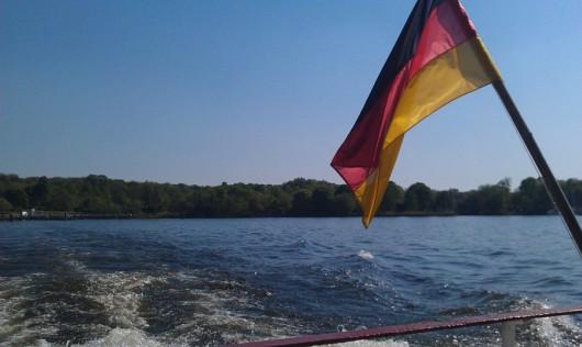 Überfahrt mit der BVG-Fähre nach Kladow.