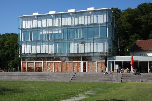 Am See-Campus der Uni Friedrichshafen.