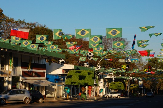 Vorfreude auf die WM in Brasilien (© flickr.com/justine.arena)