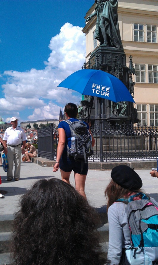 Guide der Freetour Prag.
