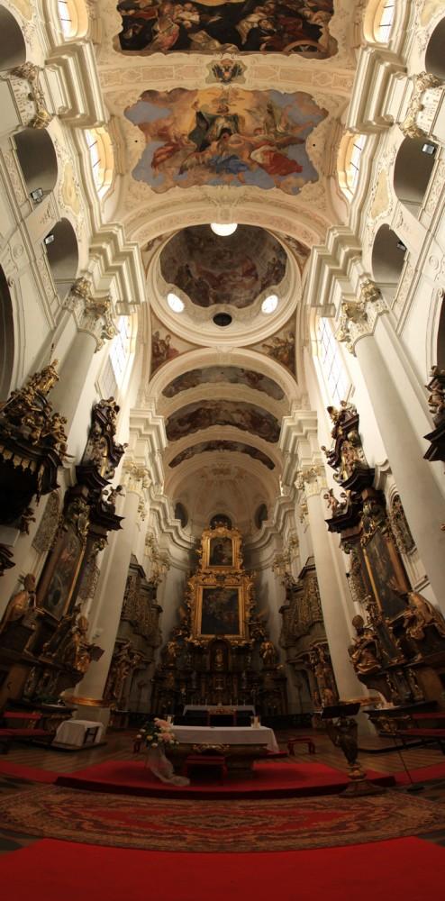Mein Geheimtipp: St. Thomas Kirche aus mehreren Bildern zusammengesetzt.